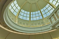 Beautiful dome at one of Johannesburg Hypermarket Royalty Free Stock Images