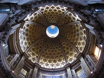 Beautiful Dome of the Siena Cathedral Stock Image