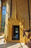 Beautiful door of Kambawzathardi Golden Palace, Bago,myanmar. Stock Photo