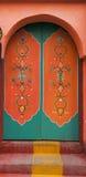 Beautiful  door in Rabat,Morocco Stock Image