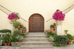 Beautiful doorway Stock Images