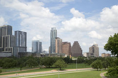 Beautiful downtown of city Austin. Beautiful modern city Austin ,TX USA Royalty Free Stock Images