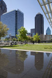 Beautiful downtown Dallas Stock Image