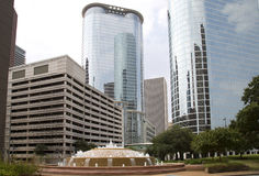 Beautiful downtown Houston Royalty Free Stock Image