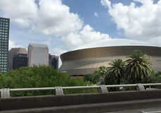 Beautiful downtown New Orleans Royalty Free Stock Photography
