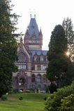 Drachenburg Castle Dragon Castle near Koenigswinter - Bonn in Germany. North Rhine-Westphalia. Royalty Free Stock Image