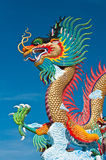 Beautiful dragon with blue sky Stock Photography