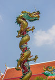 Beautiful dragon with blue sky Royalty Free Stock Photos