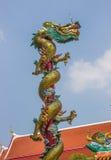 Beautiful dragon with blue sky Royalty Free Stock Photos