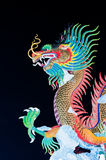 Beautiful dragon at Night Stock Photo