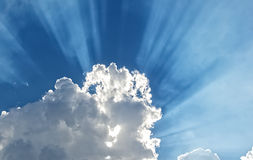 Beautiful Dramatic Cloud and Sky Stock Photography