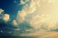 Beautiful Dramatic Sky Royalty Free Stock Photo