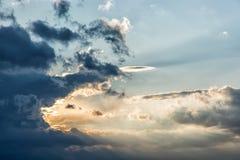 Beautiful dramatic sky Stock Photography