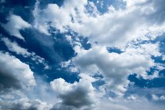 Beautiful dramatic sky Royalty Free Stock Photos