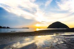 Beautiful dramatic sunset Royalty Free Stock Images