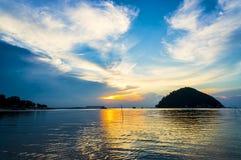 Beautiful dramatic sunset Royalty Free Stock Photos
