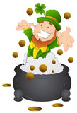 Cartoon St. Patrick's Day - Vector Illustration Royalty Free Stock Image