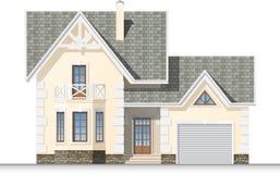 Beautiful dream house Stock Photo