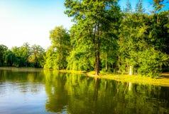 Beautiful dream landscape in summer season Stock Photo