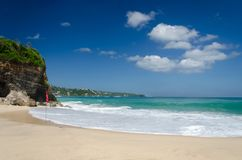 Beautiful Dreamland Beach Bali, Indonesia Stock Photography