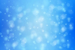 Beautiful dreamy background with bokeh lights Stock Photography