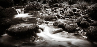 A beautiful dreamy Scottish stream Stock Images