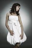 beautiful dress looking sad something woman Arkivbild