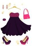 Beautiful dress Stock Images