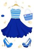 Beautiful dress Stock Photos