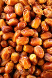 Beautiful dried dates. Many appetizing dried dates, pattern Stock Image