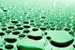 Beautiful drops of water Royalty Free Stock Photo