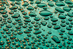 Beautiful drops of water Royalty Free Stock Photos