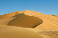 Beautiful Dune - Erg Tamesset - Sahara, Libya Royalty Free Stock Photography
