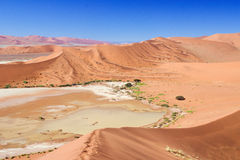 Beautiful dunes, african landscape Stock Photo