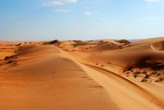 Beautiful dunes in Omani desert Stock Image