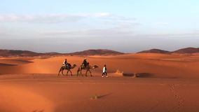 Beautiful dunes of Sahara desert Erch Chebi, Morocco, Africa