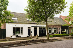 Beautiful Dutch houses Royalty Free Stock Photos
