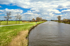 Beautiful Dutch landscape Stock Image