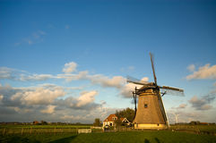 Beautiful dutch windmill Royalty Free Stock Image