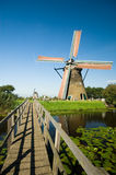 Beautiful dutch windmill royalty free stock images