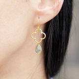 Beautiful earring Royalty Free Stock Photo