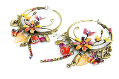 Free Beautiful Earrings With Fine Ornament Stock Photos - 13267683