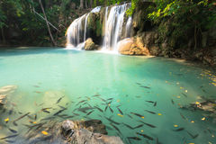 Beautiful Earwan Waterfall Royalty Free Stock Photography