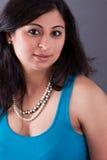 Beautiful East Indian Woman Stock Photo