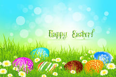 Beautiful Easter Background Stock Images