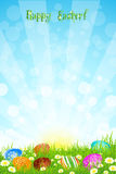 Beautiful Easter Background Stock Photography
