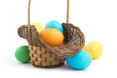 Beautiful Easter basket Royalty Free Stock Photography