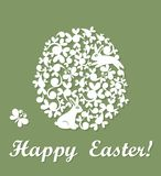 Beautiful easter card Royalty Free Stock Photo