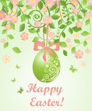 Beautiful easter card Royalty Free Stock Image