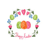 Beautiful Easter card Stock Images